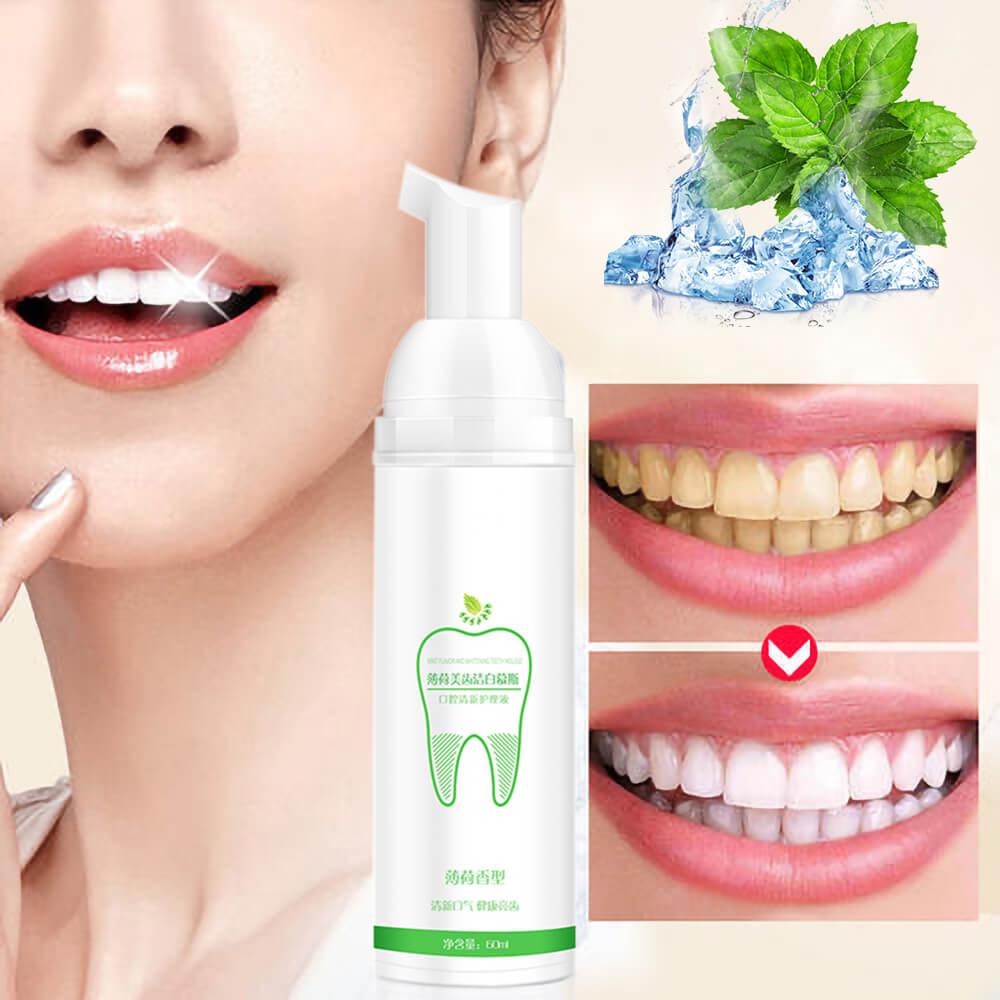 AZDENT Mousse Zahnpasta Zähne Bleaching Frische Glänzende Zahn-Reinigung Oral Hygiene Entfernt Plaque Flecken Schlechte Atem Dental Werkzeug
