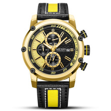 MEGIR Luxury Brand Men's Watch Chronograph Watches Men Waterproof Date Sport Military Quartz Wristwatch Male Clock все цены
