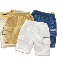 Vidmid Cotton Baby Boys Shorts Solid Baby Cotton Shorts Trousers Summer Thin Baby Boys Clothes Fashion Baby Girl Trousers P399