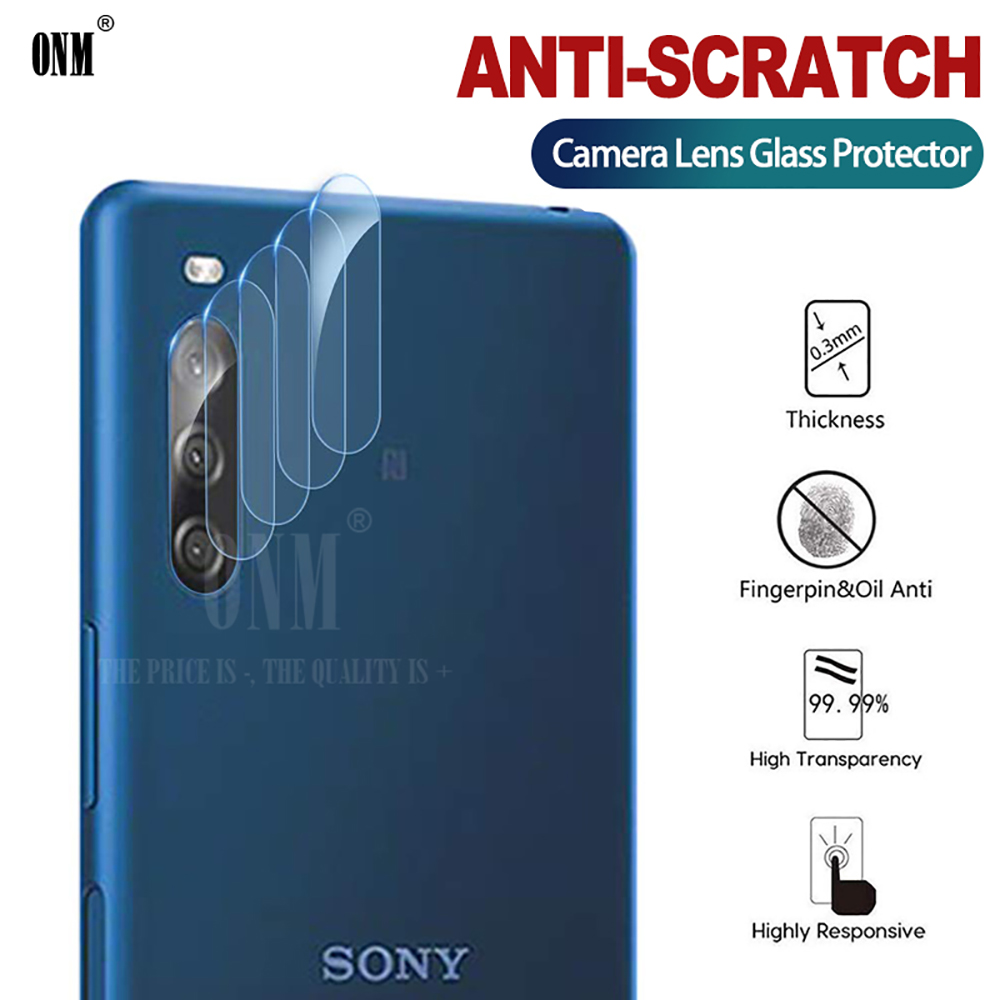 L4 Camera Lens Tempered Glass For Sony Xperia L4 Screen Protector For Sony Xperia L3 L1 Back Camera Lens Glass Film