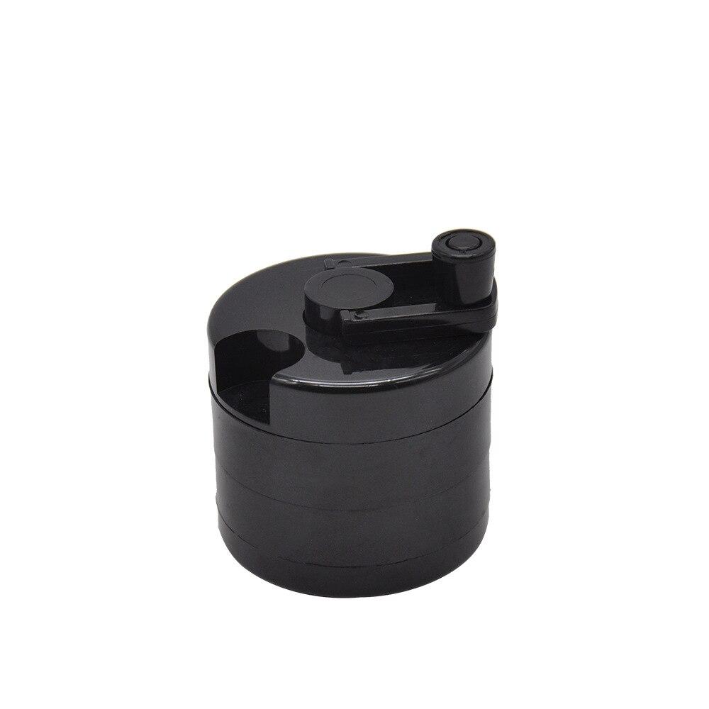 Plastic Herbal Herb Tobacco Herb Spice Grinder Herbal Smoke  3-layerCrusher Smoking Pipe Accessories 63mm Smoke Cutter 8