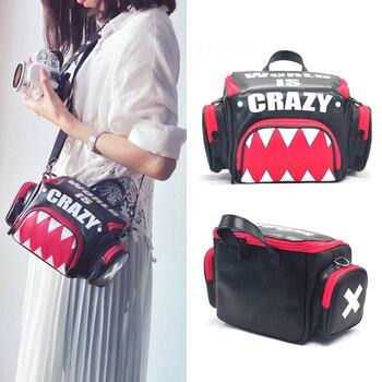 Roadfisher Helling Mouth PU Leather Handbag Camera Shoulder Messenger Photo Video Bag Insert Case For Canon Nikon Sony Pentax