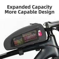 Geometric Shaped Shockproof Bicycle Bag