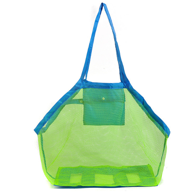 1 Pc Kids Baby Carry Beach Toys Sand Away Beach Bag Pouch Tote Mesh Children Storage Toy Collection Sand Away Beach Mesh Tools