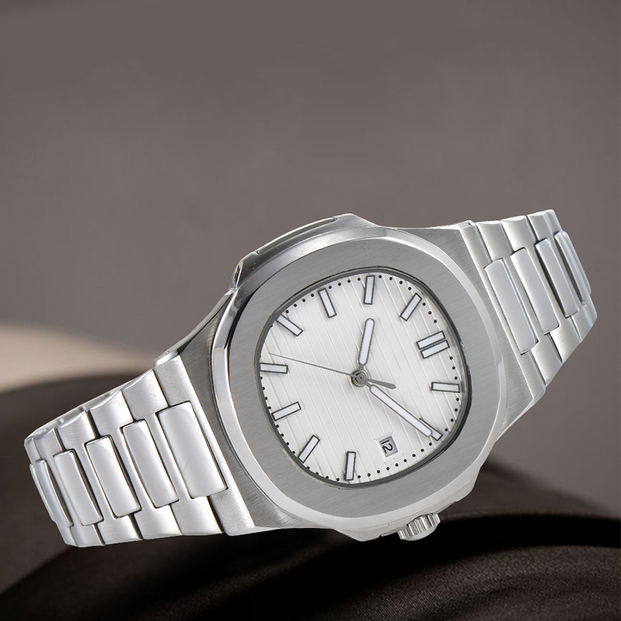 watch men automatic mechanical watch date Luminous waterproof 316L Solid stainless steel 41MM LM11