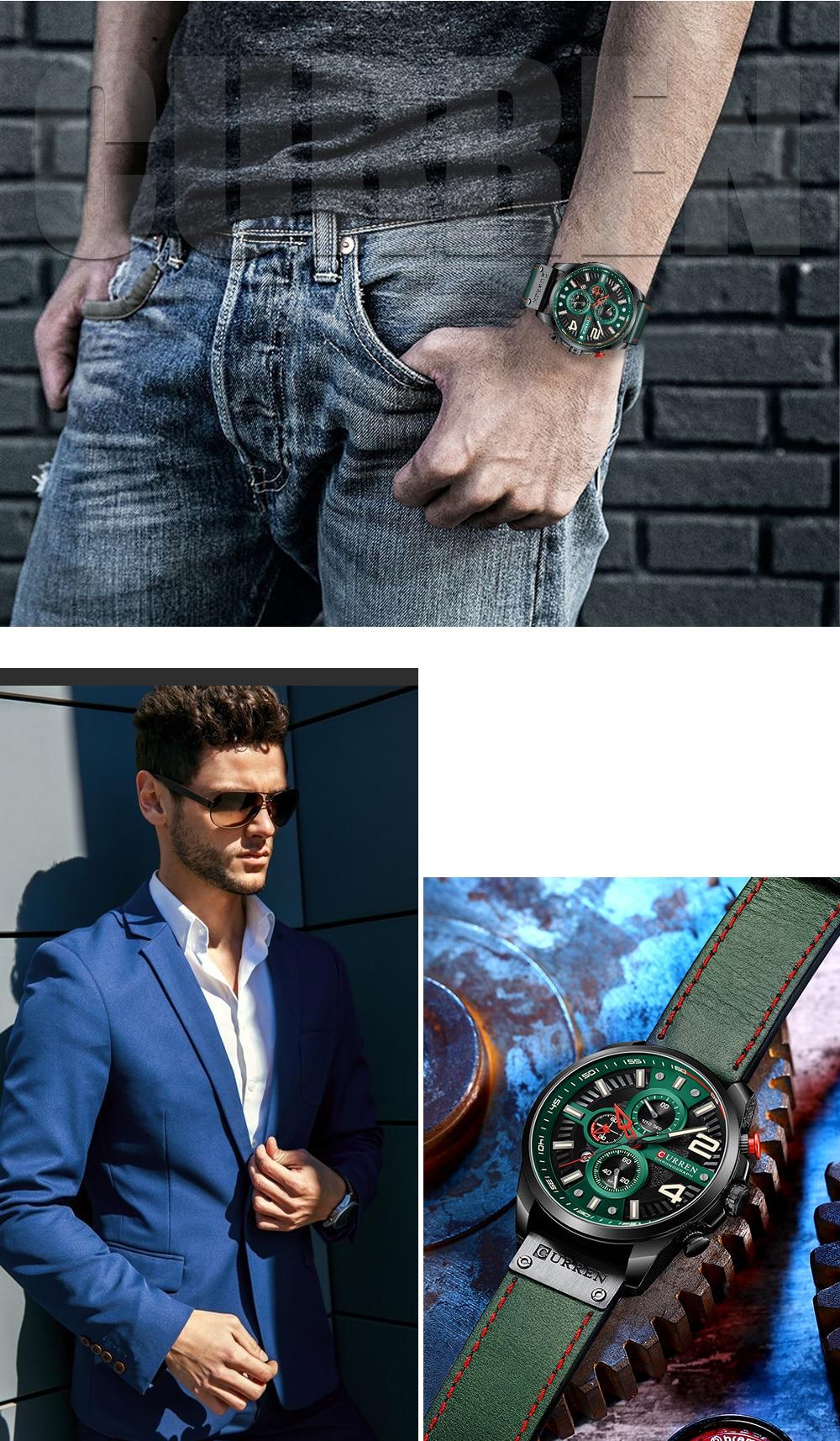 curren 8393  Male Watch