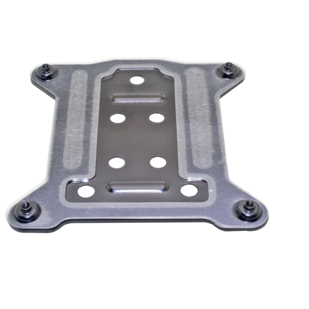 <font><b>CPU</b></font> <font><b>Cooler</b></font> Metal Backplate Bracket Motherboard Back Plate for Intel LGA 1155 1156 1151 1150 <font><b>115X</b></font> Install The Fastening image