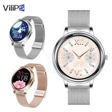 Vilips элегантной женской обуви smart watch полный экран сенсорный