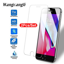 2Pcs/Set Protective Glass 0.26mm 2.5D Ultrathin Screen Protector For iPhone6 6S Clear Hard on iPhone6S 6 9H HD Tempered