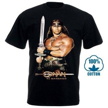 Conan The Barbarian Khaki Natural Poster Men'S Hot Lunch T Shirts Casual T-Shirts Custom Shirt Harajuku Man 2020 Ltzubo - discount item  50% OFF Tops & Tees