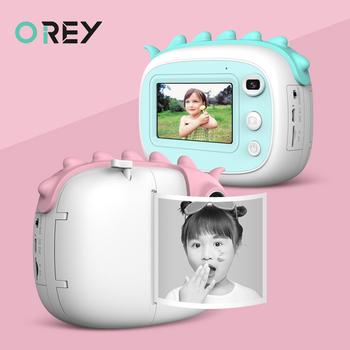 Aparat fotograficzny dla dzieci aparat fotograficzny dla dzieci 1080P kamera HD Instantane aparat cyfrowy aparat fotograficzny aparat fotograficzny na prezent urodzinowy tanie i dobre opinie OREY 2x-7x Brak Full hd (1920x1080) 4 3 cali 18-55mm 24 0MP instant camera Karta sd Standardowy ekran 2 -3 Bateria litowa