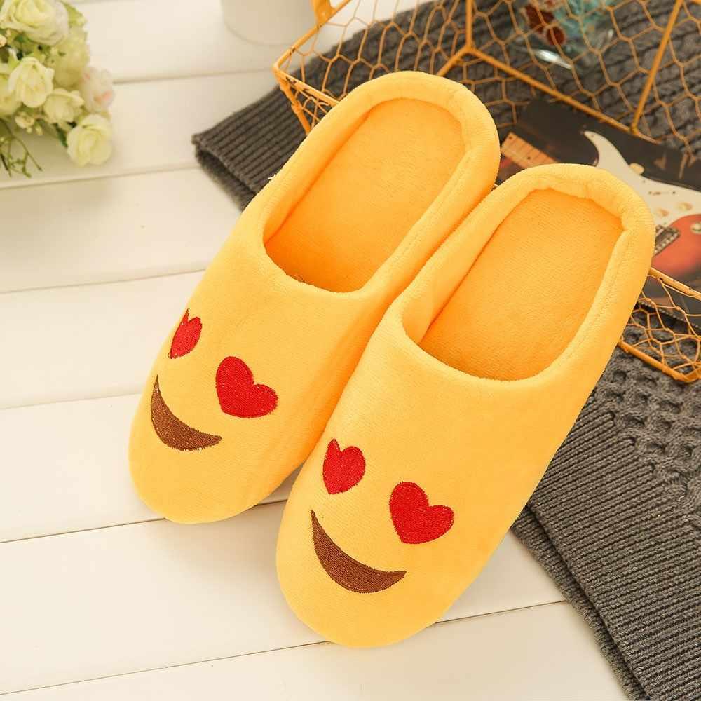 Zapatillas de casa de invierno para mujer con piel sintética a la moda Zapatos de abrigo para mujer deslizantes planos femeninos negro Rosa Plus tamaño 36-42