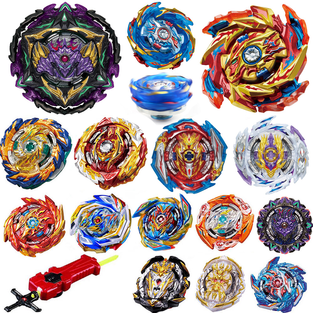 All Models Launchers Beyblade Burst GT Toys Arena Metal God Fafnir Bey Blade Blades sparking Toy