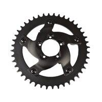 Roda de corrente da bicicleta elétrica substituição corrente guarda adaptador 40 t dentes chainring para bafang bbshd bbs03 mid drive motor|Pedal da bicicleta| |  -