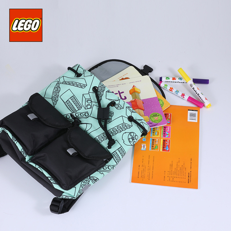 Lego LEGO Backpack Fashion Leisure Bag New Style GIRL'S And BOY'S Backpack 3-Year-Old CHILDREN'S School Bags 20131