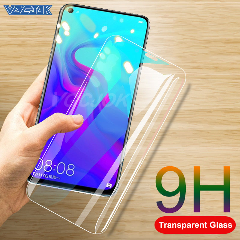 9H Protective Glass For Huawei Honor View 20 V20 V10 9X 8X 8A 8C Tempered Glass For Honor 9 10 20 Lite 20i 20S Screen Protector