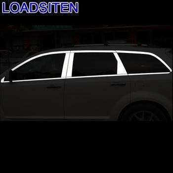 Decorative Modified Automovil Auto Window Exterior Modification Mouldings Covers Parts 10 11 12 13 14 15 16 FOR Dodge Journey