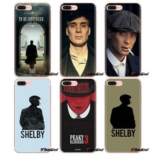 Pour Samsung Galaxy S2 S3 S4 S5 MINI S6 S7 edge S8 S9 Plus Note 2 3 4 5 8 Coque Fundas housse souple sac Tommy Shelby Peaky Blinders(China)