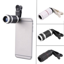 Universal 8X Optical Zoom Lens for Smartphone Portable Mobile Phone Telephoto Camera Zoom Lens Clip for Huawei iPhone X 8 S8 S4 цена и фото
