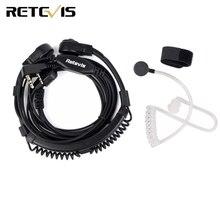 Słuchawki mikrofonowe do słuchawek laryngofonowych walkie talkie do Kenwood TYT Baofeng UV 5R UV 5R Bf 888S RT5R H777