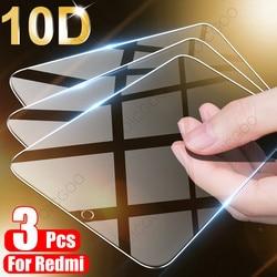 3 pçs cobertura completa de vidro temperado para xiaomi redmi nota 9 8 7 5 6 9s pro max protetor de tela para redmi 8a 8 7 7a 9 9a 8t vidro