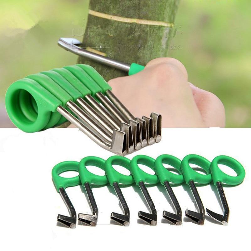Garden Pruner Ring Barking Cutter Scissors Garden Fruit Tree Grape Girdling Knife Rings Tool Cutting Blade Pruning Hand Tools