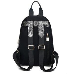 Image 3 - Mochilas de moda para mujer, bolsos escolares informales para chicas adolescentes, mochila impermeable de alta calidad, bandoleras para mujer 2019