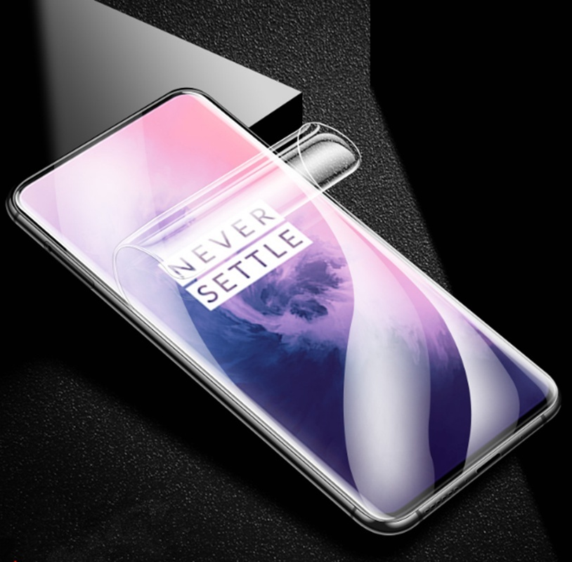 Hydrogel Film for Oneplus 5 6t HD Screen Protector film For OnePLus6T 7Pro 5T Screen Protector For OnePLus7 Soft Film Full Cover in Phone Screen Protectors from Cellphones Telecommunications
