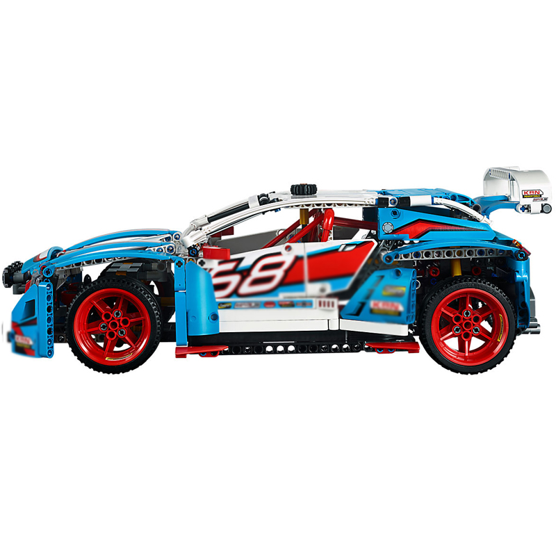 20077-Super-Racing-Car-Technic-Series-the-Rally-Car-Set-42077-Building-Blocks-Bricks-Educational-Funny