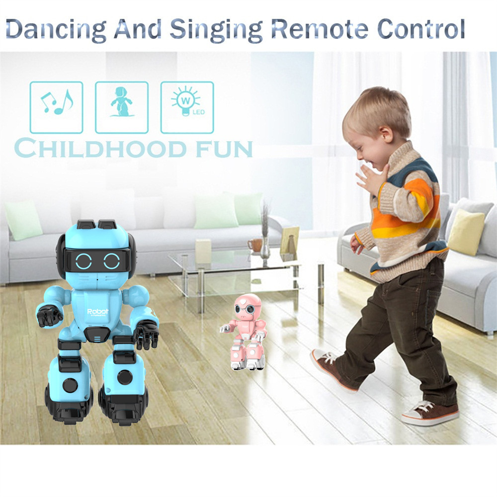 Smart Robot Remote Control Electronic Walking Dancing Vocal Toy Robot Kid Child Christmas Gift Fun Cute Eject