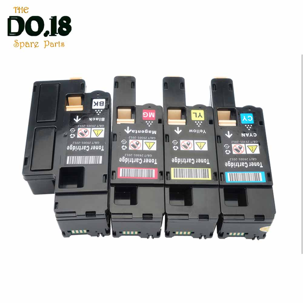 106R02759 106R02756 106R02757 106R02758 Toner Bundle Cartridges Compatible For Fuji Xerox Phaser 6020 6022 Workcentre 6025 6027
