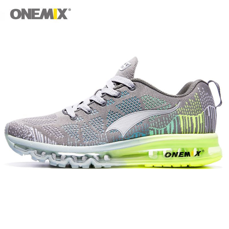 ONEMIX Men Running Shoes Mesh Knit Trainers Designer Trends Tennis Sports Outdoor Travel Trail Athletic Shoe Light Women Shoes