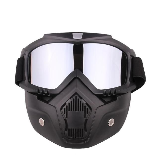 HiMISS Practical Motorcycle Tactical Glasses Mask Wind Dust Proof Outdoor Sports Equipment 1