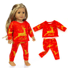 20 species Baby Doll Clothes Quality Cotton Christmas Clothes Romper Suit For 45cm Silicone Reborn Doll Toys Baby Doll Accessory