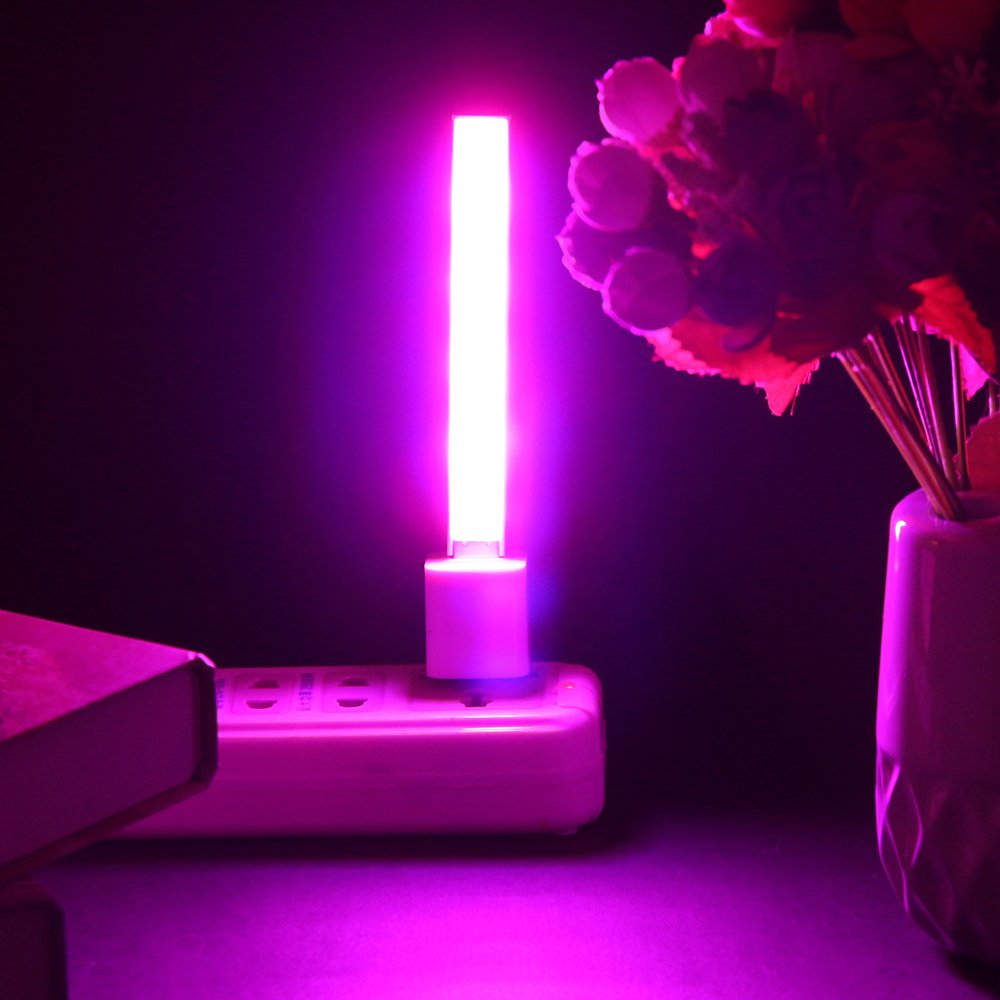 14LED 2.5W Plant Grow Light Portable USB Powered Red & Blue Lighting For Indoor Garden Hydroponics Greenhouse Plant Growth Light