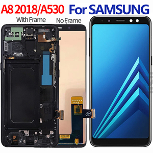 incell For Samsung Galaxy A8 2018 lcd A530 A530F A530DS A530N SM-A530N Touch Screen Digitizer LCD Display Assembly(China)