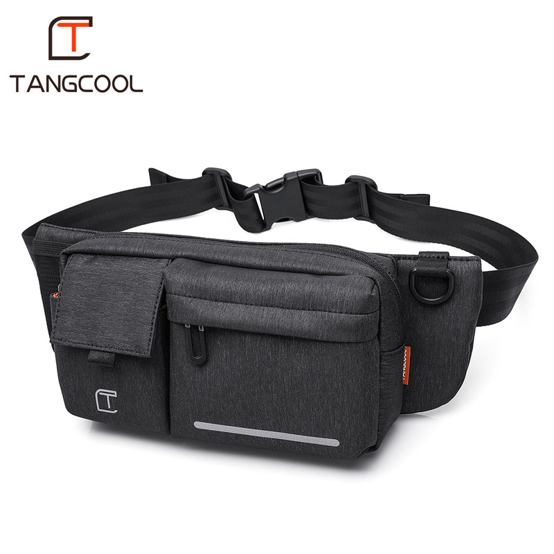 Tangcool Brand Designer Unisex Men Waterproof Waist Bags Fashion Women Chest Packs For 7