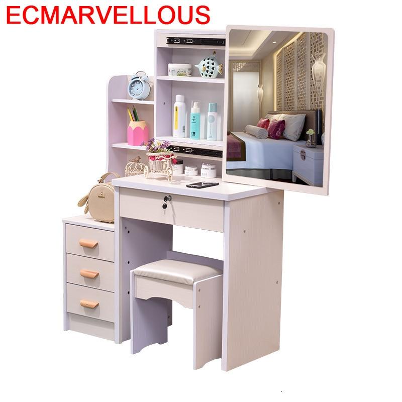 Miroir Mesa Toaletka Do Sypialni Tocadore Para El Dormitorio Aparador Wood Bedroom Furniture Quarto Penteadeira Dressing Table