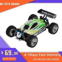 Wltoys A959-B 1:18 70km/h alta velocidade rc carro de corrida 4wd 2.4ghz rc carro de controle remoto elétrico veículo fora de estrada carro buggy brinquedos