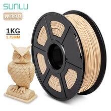 SUNLU PLA Filament 1KG 1,75 MM Holz pla filamente 3D Drucker ungiftig Sublimation Liefert Ähnliche Holz Wirkung