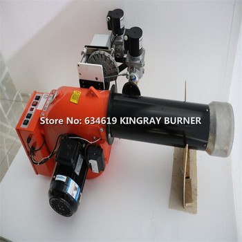 LPG / NG Gas Fire Burner With Solenoid Valve Propane Oven Burner Natural Gas Powder Coating Heater Industrial Heating Machine  - buy with discount