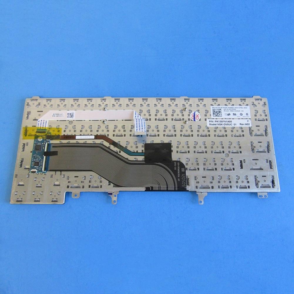 DV/_ US Version Laptop Keyboard for Dell Latitude E6320 E6230 E5420 E6330 E6440