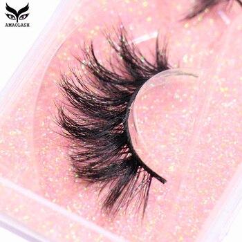 Makeup Mink Eyelashes 100% Cruelty free Handmade 3D Mink Lashes Fluffy Full Strip Lashes Soft False Eyelashes Makeup Lashes 1
