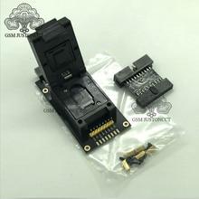 Adaptateur de prise 2 en 1 pour Easy Jtag Plus Box, UFS BGA 254% eMMC 254, dernier modèle original