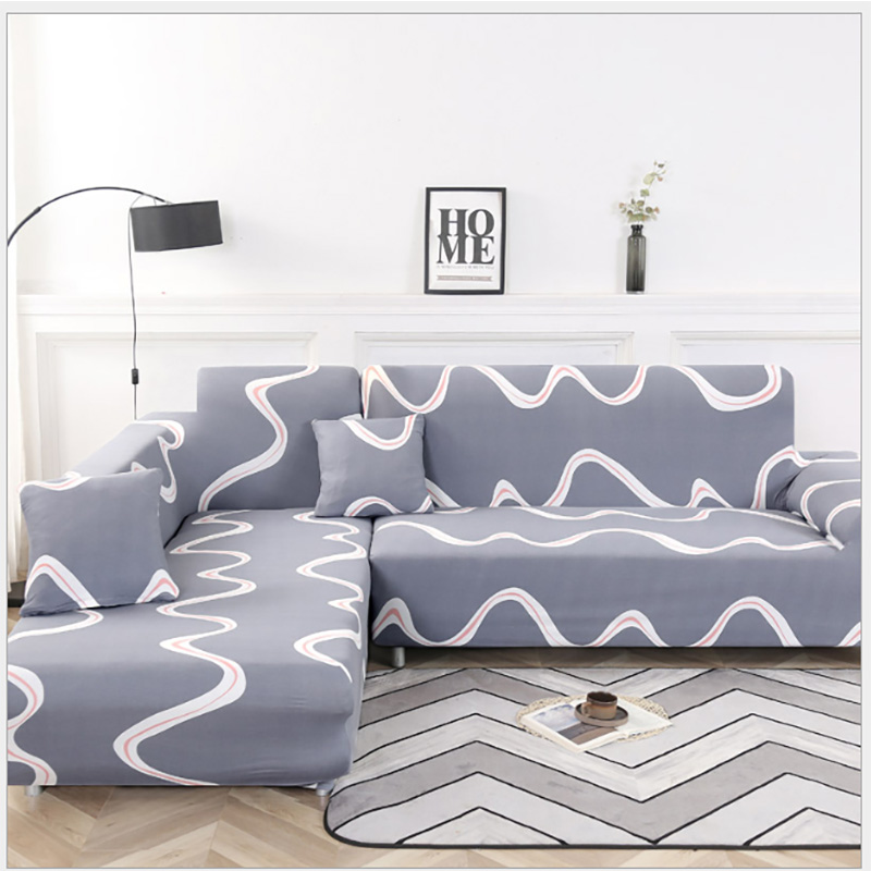 1 2 3 4 Seat Slipcovers Modern Style Sofa Cover 100 polyester Sofa Cover for Living