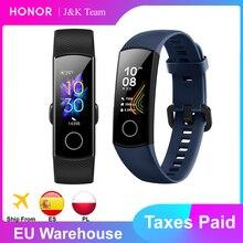 Honor band 5 Smart Band Global Versie Bloed Zuurstof Smartwatch Amoled Huawei Smart Band Hart Rage Ftness Sleep Tracker
