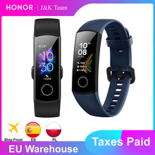 Honor band 5 Smart Band הגלובלי גרסה דם חמצן smartwatch AMOLED Huawei חכם להקת לב זעם ftness שינה tracker