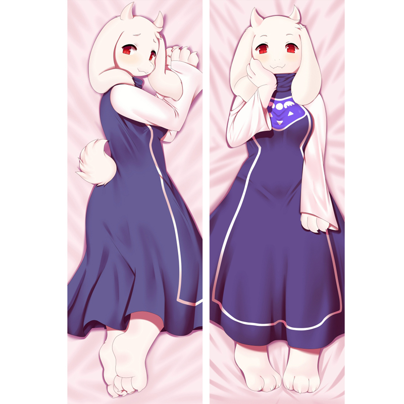 Game Undertale Toriel Dakimakura Anime Hugging Body Pillowcase Pillow Case Cover