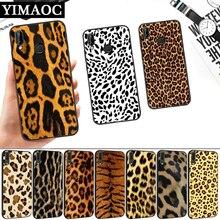 Fashion Tiger Leopard Panther Silicone Soft Case for Huawei P8 P9 P10 P20 P30 Lite Pro P Smart Z Plus