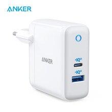 Anker – chargeur de voyage 60W PIQ USB C et GaN Tech, chargeur à double Port, PowerPort Atom III (2 Ports), avec un Port 45W 3.0, USB C